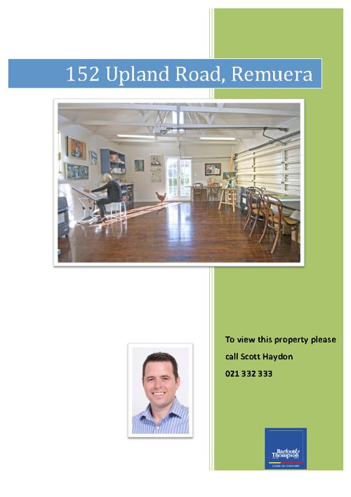 152 Upland Road - Remuera