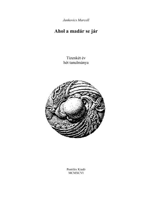 Jankovics Marcell: 7 tanulmány