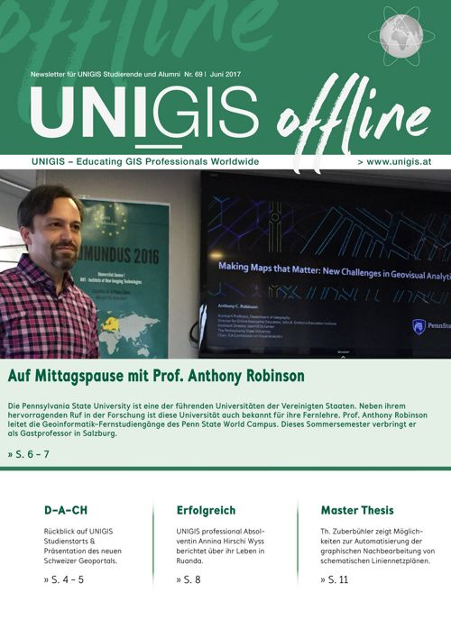 UNIGIS offline Nr. 69 | Juni 2017
