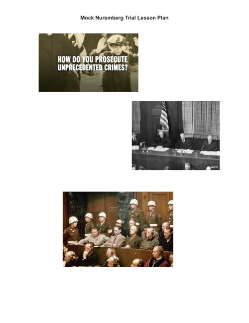 Nuremberg Trial Unit