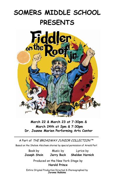 Fiddler on the Roof Jr. Program
