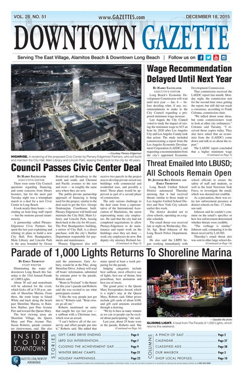 Downtown Gazette  |  December 18, 2015