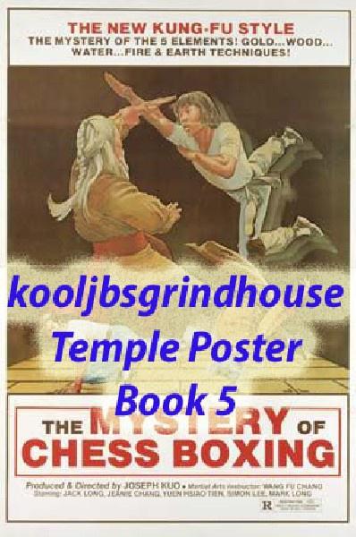 KOOLJBSGRINDHOUSE POSTER TEMPLE BOOK 5