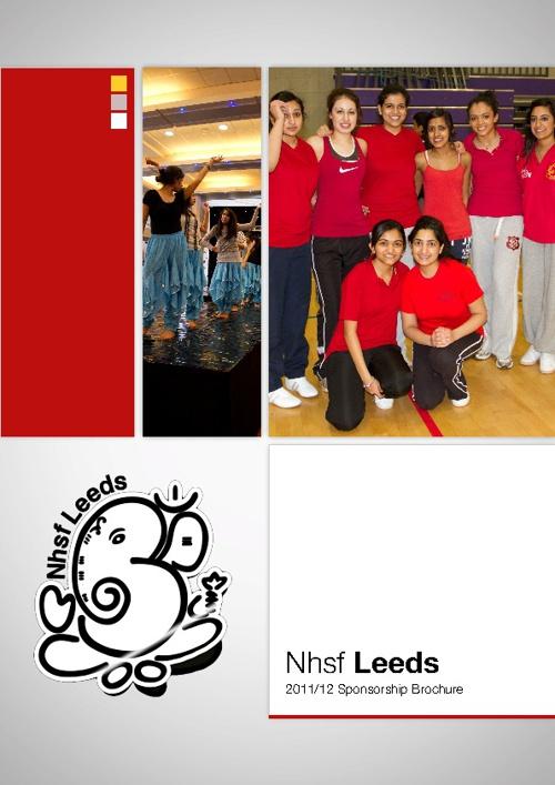 NHSF Leeds 2011/12 Sponsorship Brochure