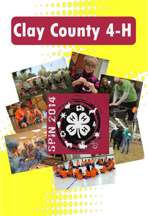 Clay County 4-H 2014 SpIn Book