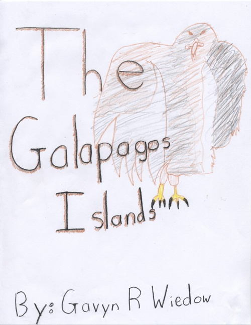 Gavyn Wiedow's Galapagos Islands Book