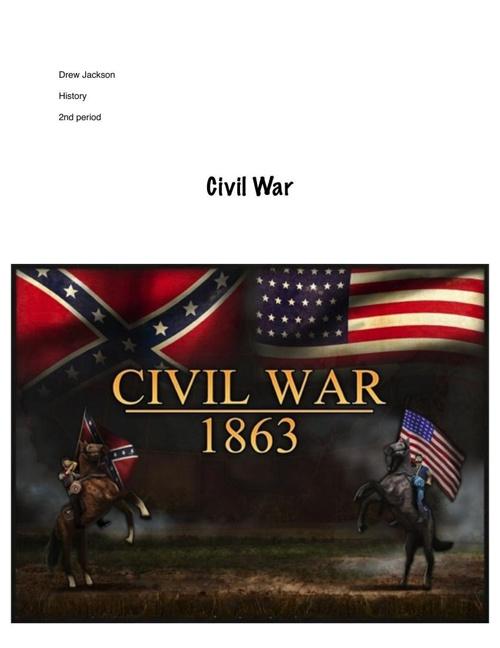 Civial war flipsnack Drew Jackson