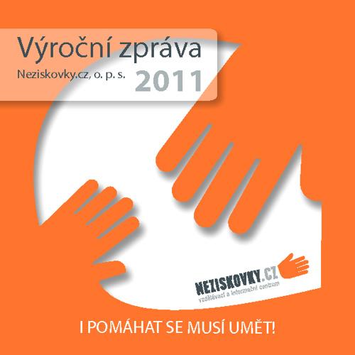 Výroční zpráva Neziskovky