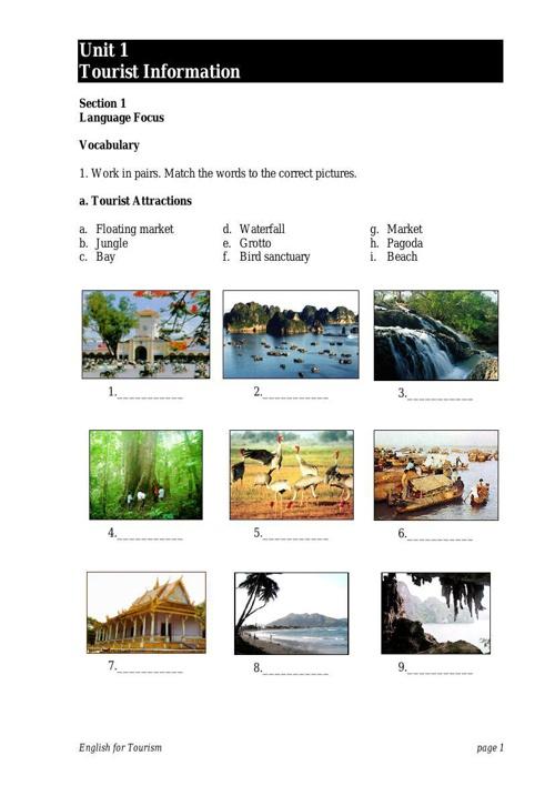 Tiếng anh chuyên ngành Du lịch - thuviensachvatailieu.blogspot.c