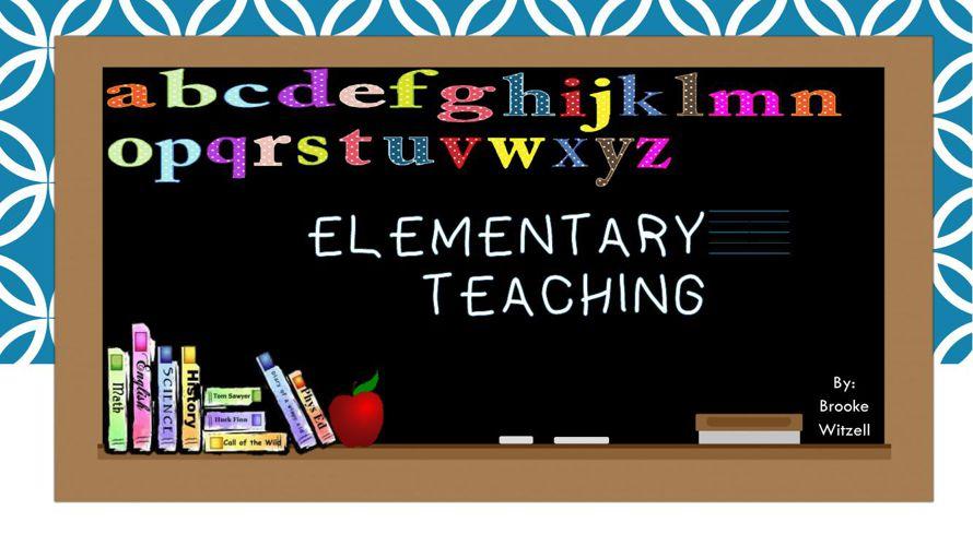 Elementary Teaching Flip Snack