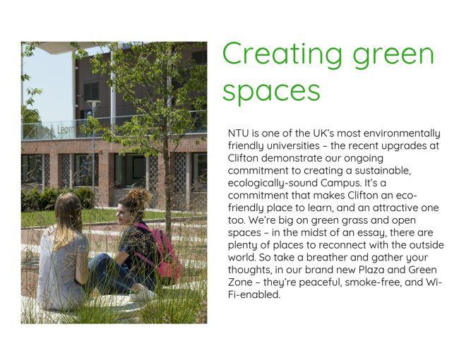 NTU Campus Transformation