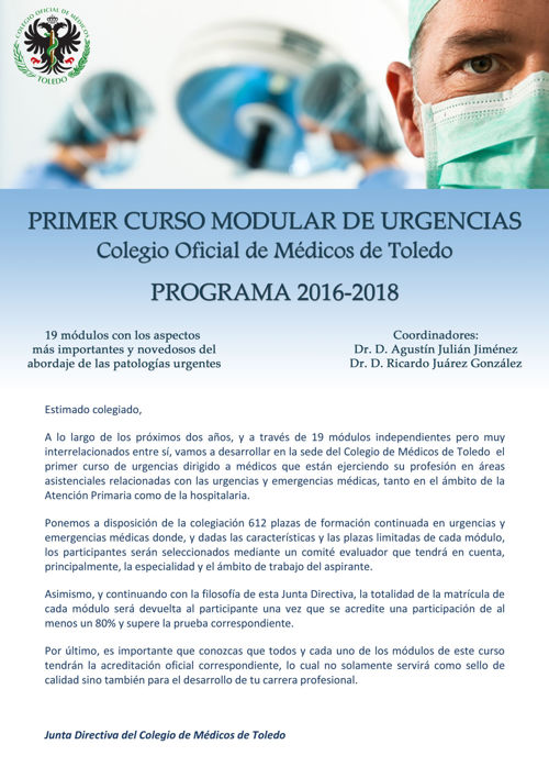 PROGRAMA COMPLETO MODULAR DE URGENCIAS