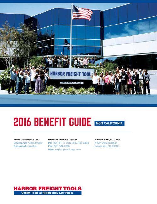 2016 HFT Benefit Guide NON CA