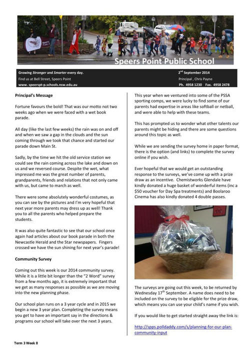 Term 3 Week 8 Newsletter