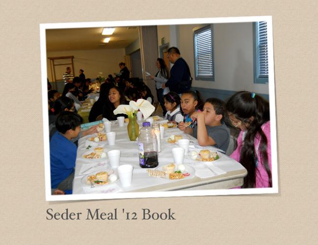 Seder Meal 2012