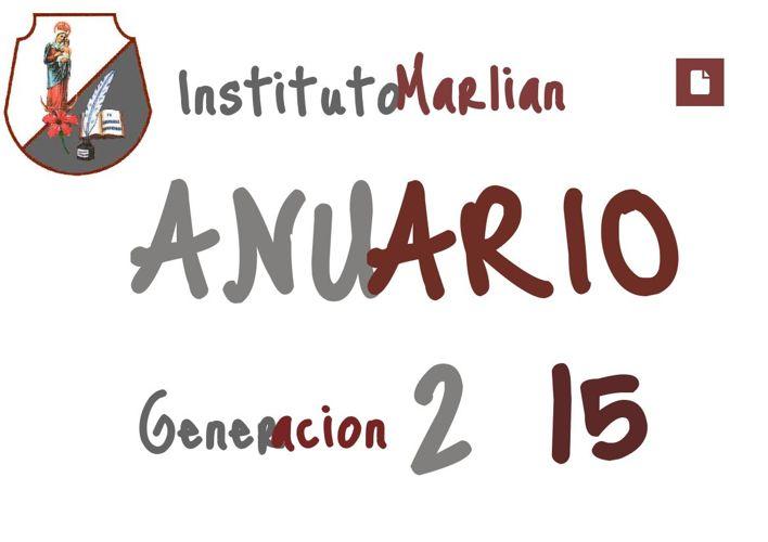 Anuario Generación 2015