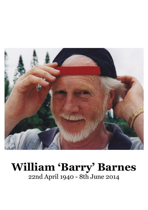 Small Order of Service for William 'Barry' Barnes