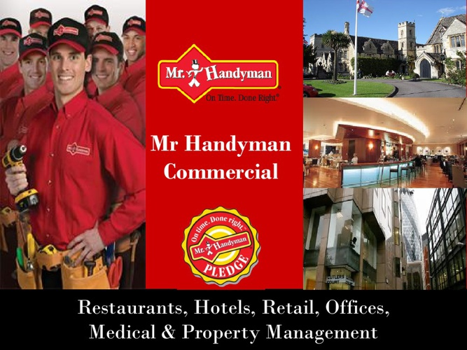 Mr Handyman Commercial Maintenance