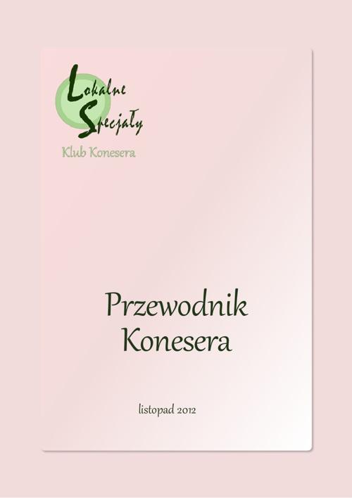 LokalneSpecjaly.pl - Przewodnik Konesera - listopad 2012