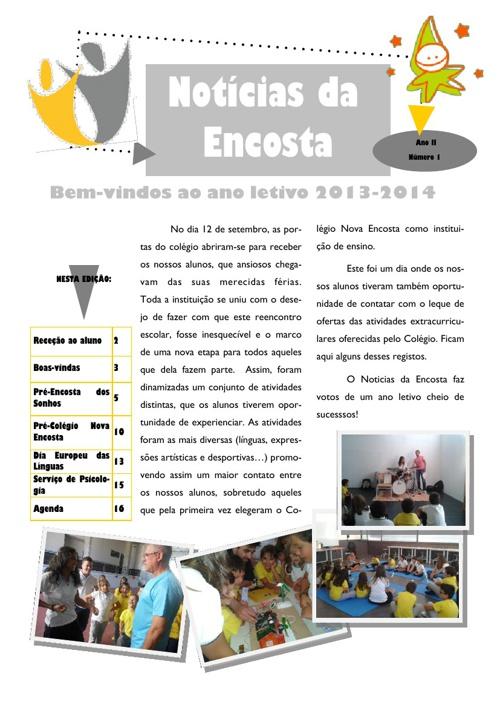 Newsletter Nº9 - setembro de 2013