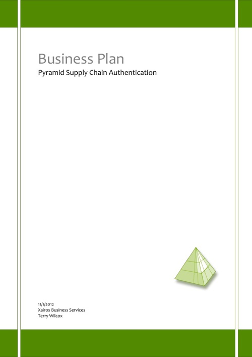 Pyramid Business Plan