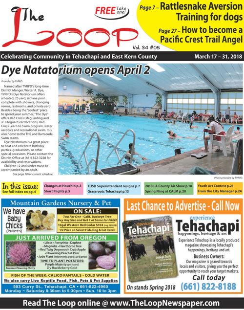 The Loop Newspaper Vol 34 No 05 - March 17 - 31, 2018