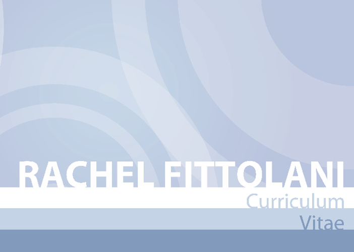 Rachel Fittolani CV