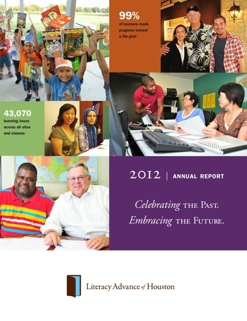 Literacy Advance 2012 Annual Report