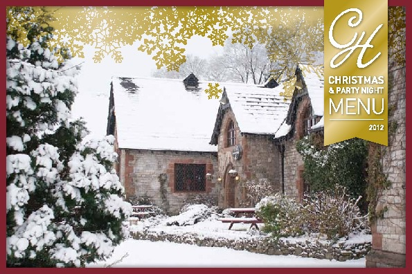 Chequers Hotel Xmas Brochure