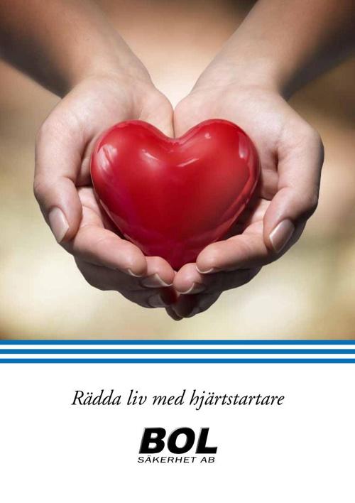 Rädda liv med hjärtstartare
