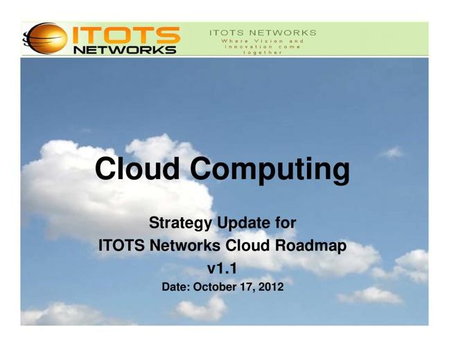 ITOTS Cloud Computing