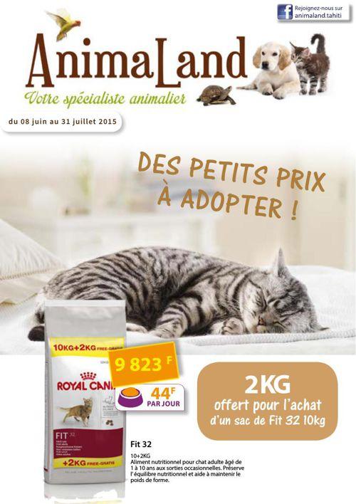 CATALOGUE ANIMALAND JUIN/JUILLET