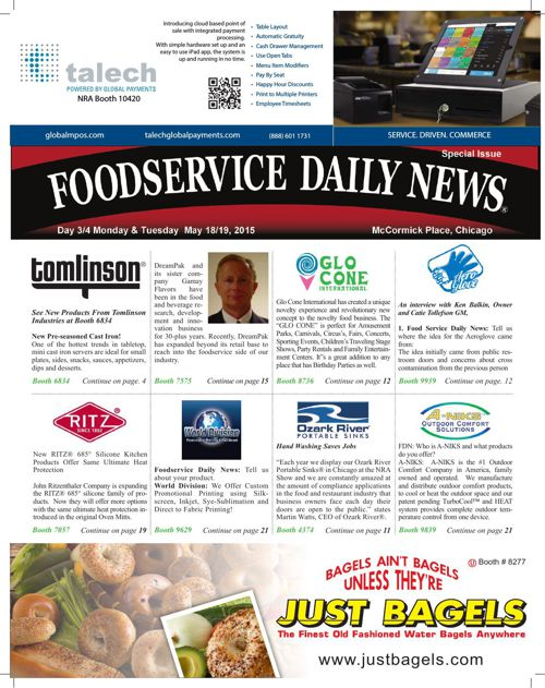 Foodservice Daily News NRA 2015 Day 3/4