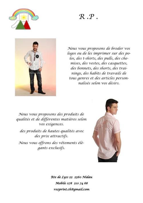 Publicité 4 pages 2ème