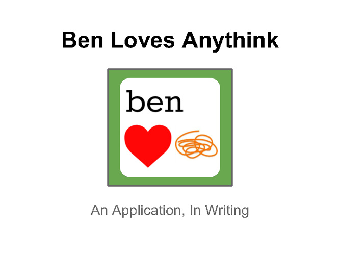 Ben Loves Anythink Magazine