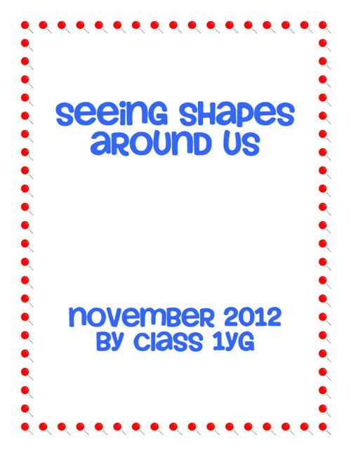 Seeing Shapes Around Us