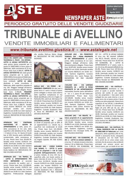 Avellino aprile 2015