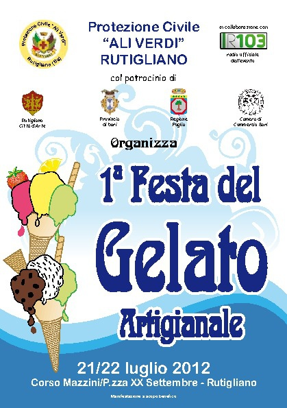 Festa del gelato 2012