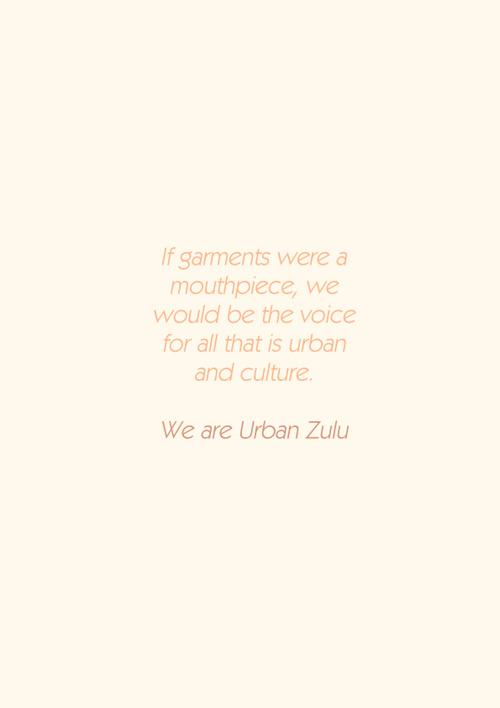 Urban Zulu Lookbook Mockup