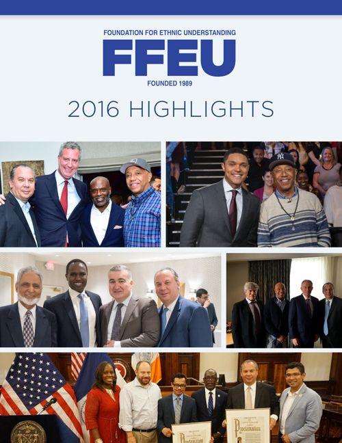 FFEU 2016 Highlights Brochure