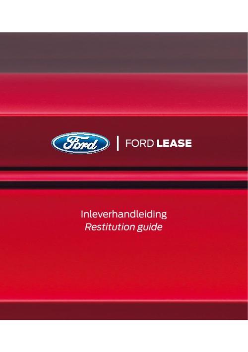 ALD Inleverhandleiding Ford