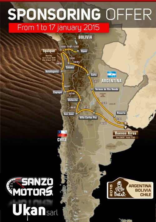 Sanzo motors , Dakar Team part1