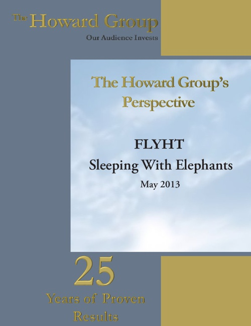 Howard Group Perspective  - FLYHT Aerospace Solutions