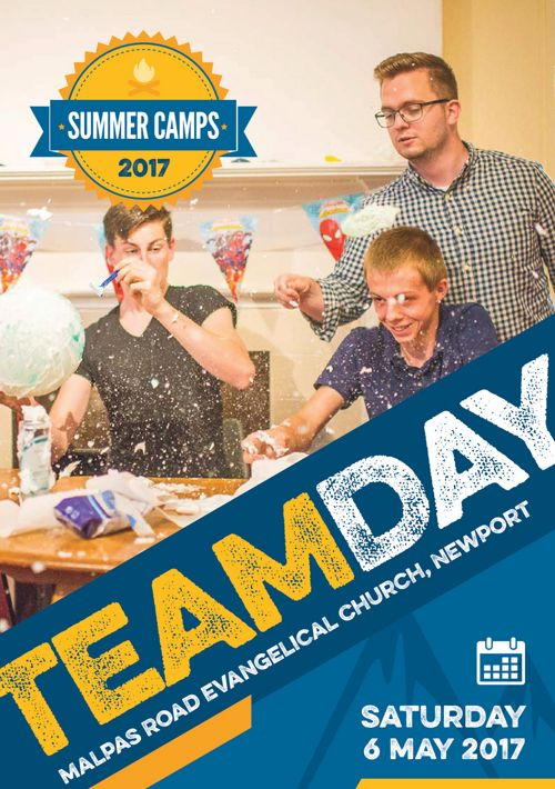 Team Day Flyer 2017