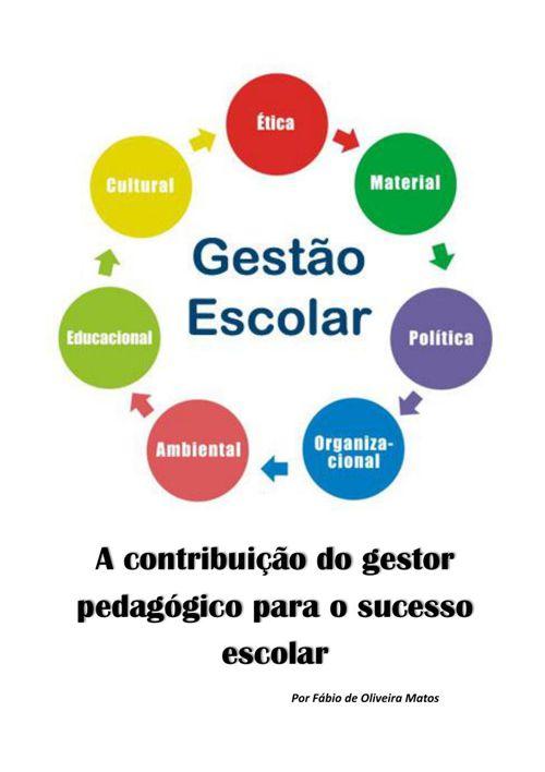 A contribuição do gestor pedagógico para o sucesso escolar