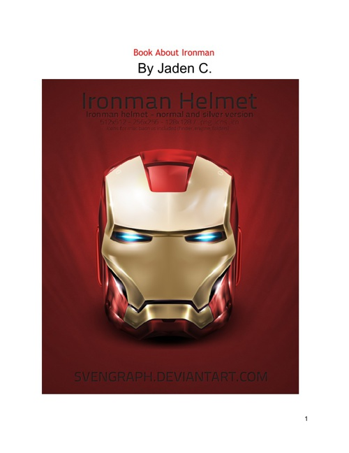 Book About Ironman