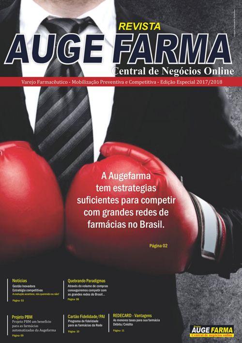INFORMATIVO AUGEFARMA - EDIÇÃO 2017/2018