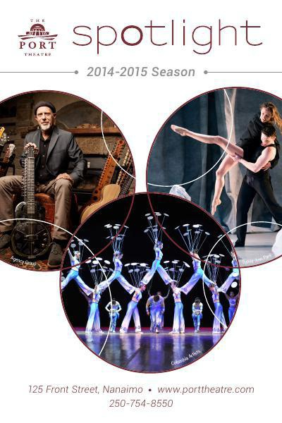 Port Theatre - 2014-2015 Spotlight Season