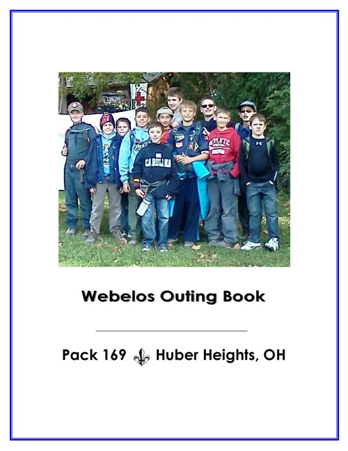 Webelos Outing Booklet