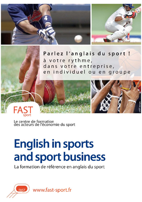 English in sports & sport buisiness
